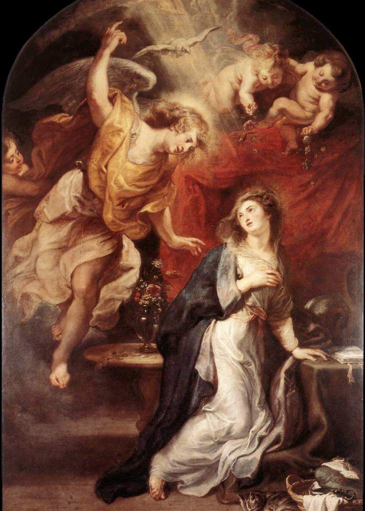 Peter Paul Rubens - The Annunciation
