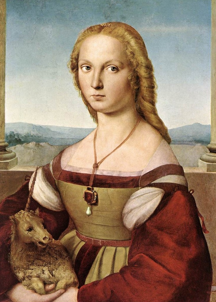 Raphael Sanzio - Lady With a Unicorn
