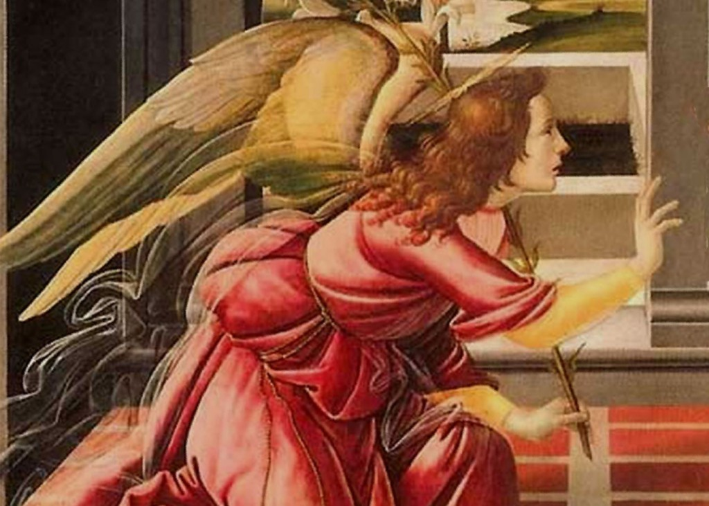 Sandro Botticelli - Angel (Delail)
