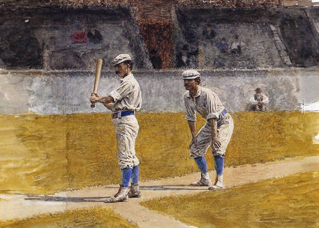 Thomas Eakins - Baseball Players Practicing