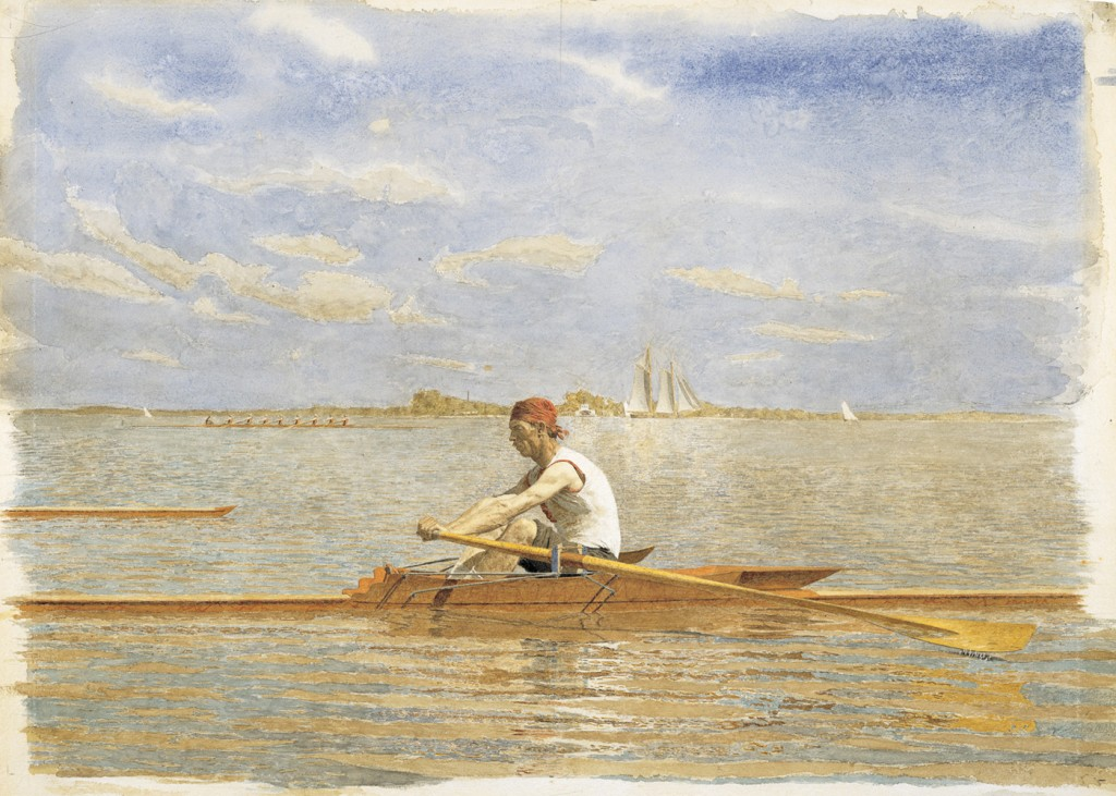 Thomas Eakins - John Beglin in Single Scull