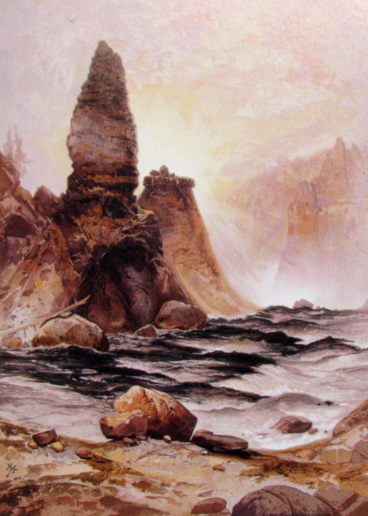 Thomas Moran - Tower Falls at Yellowstone