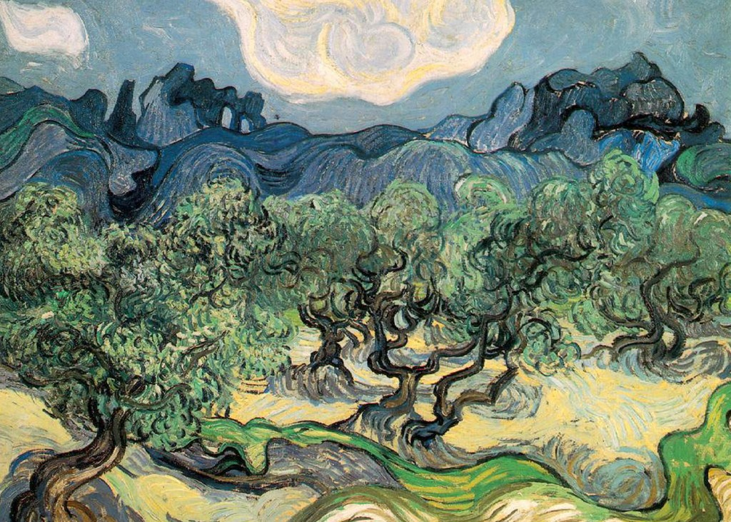 Vincent Van Gogh - Olive Trees with the Alpilles