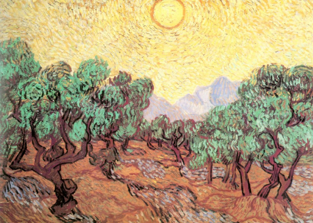 Vincent VanGogh - Olive Grove