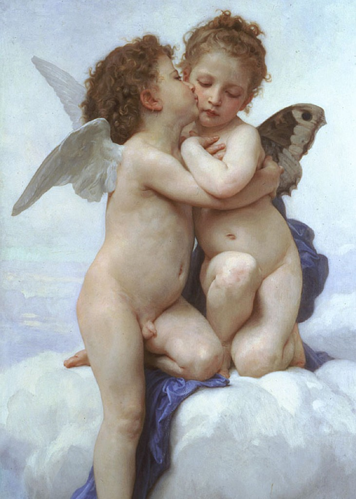Wm Bouguereau - First Kiss