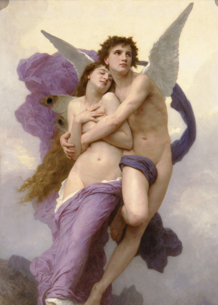 Wm Bouguereau - Rapture of Psyche