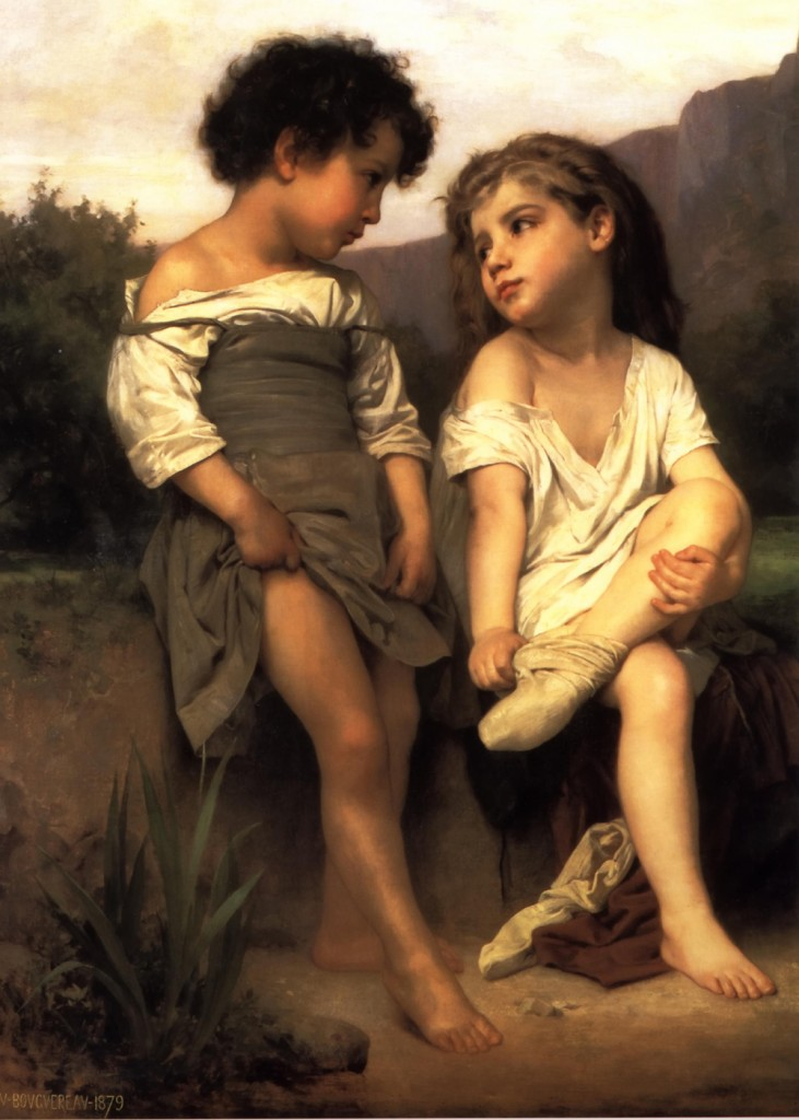 Wm Bouguereau - The Young Bathers