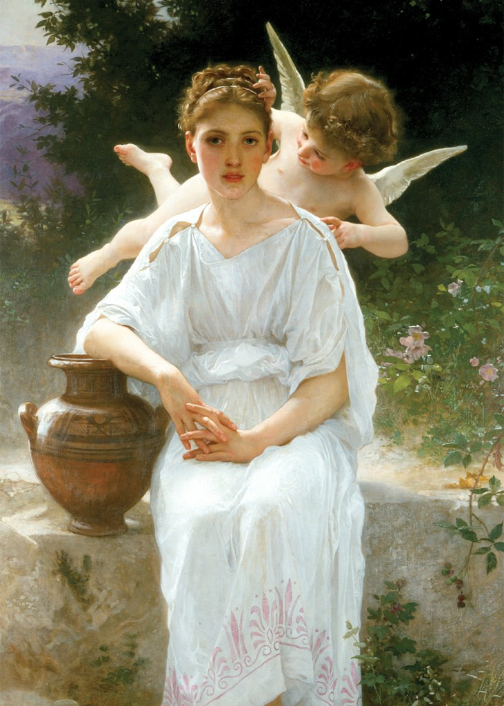 Wm Bouguereau - Whispers of Love