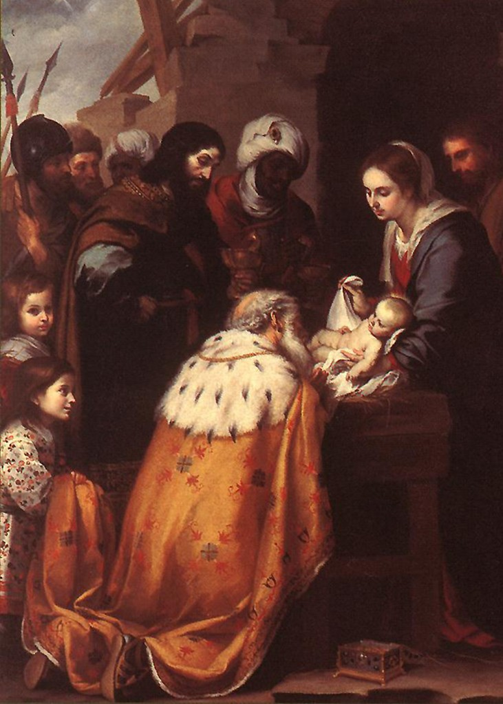 Bartolome Murillo - The Adoration of the Magi