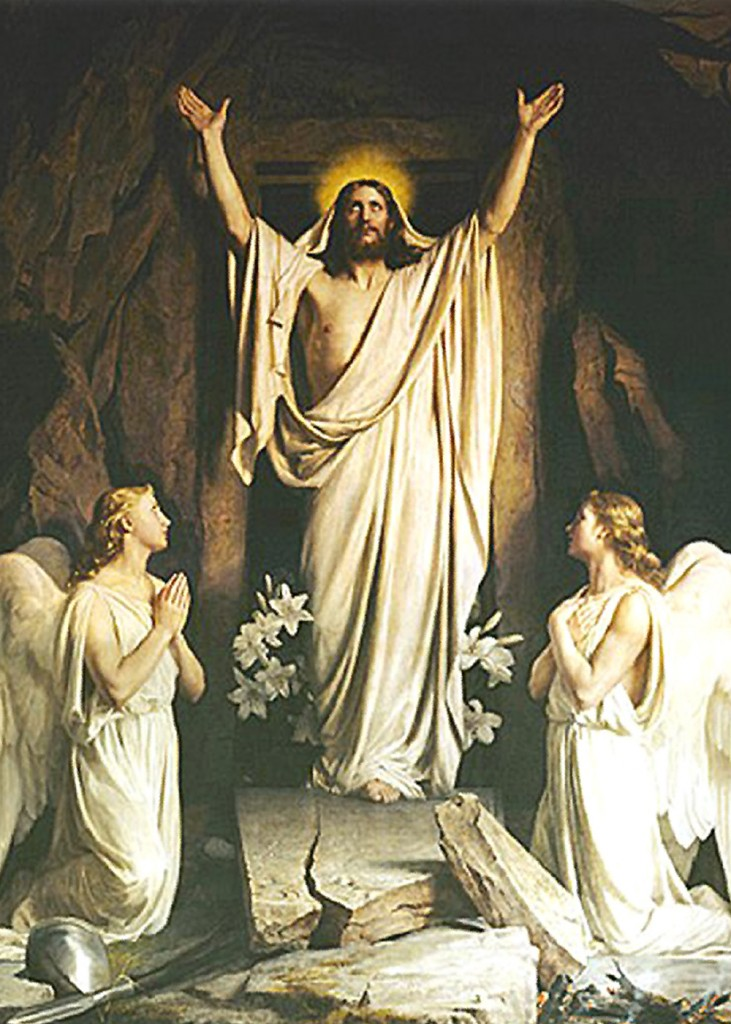 Carl Heinrich Bloch - The Resurrection