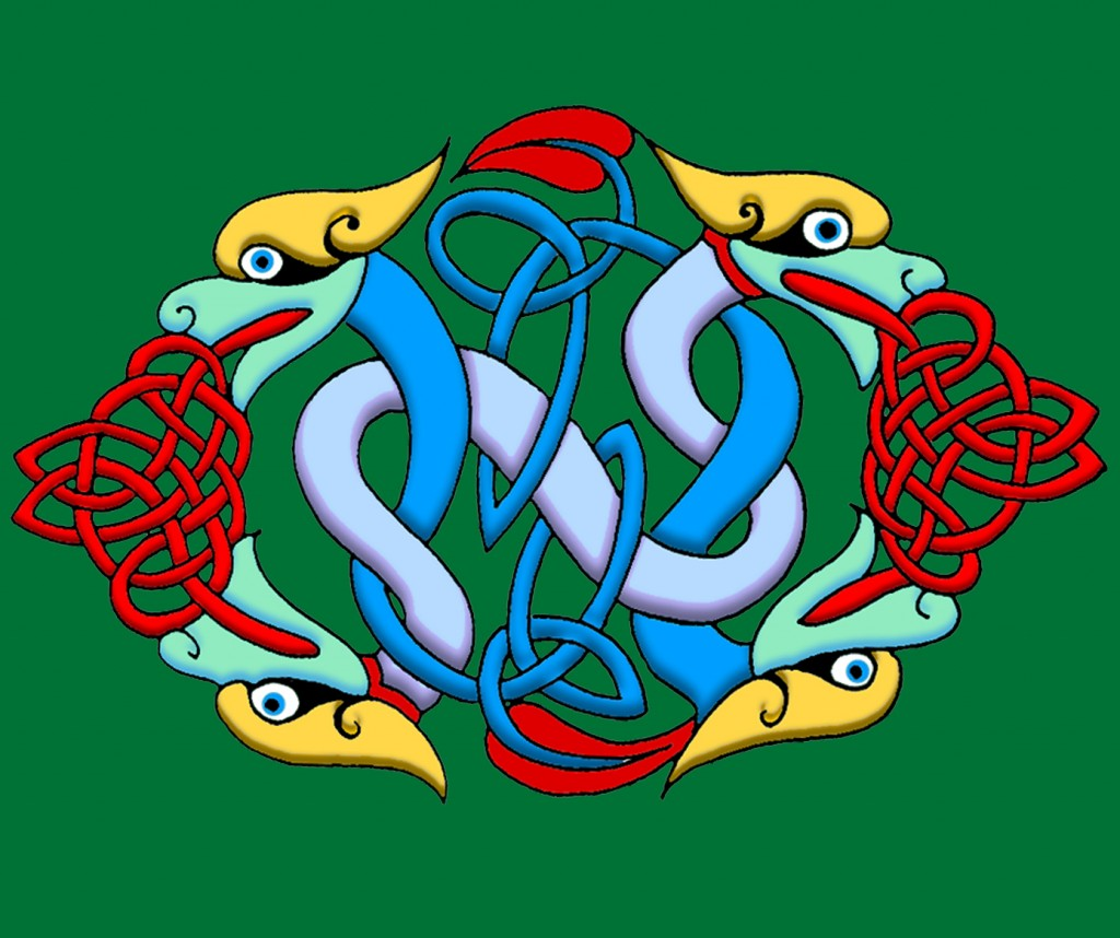 Celtic Illumination - Dragon Knot
