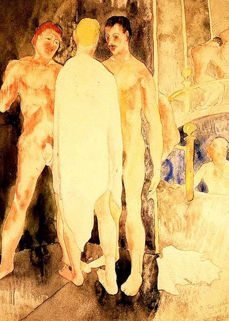 Charles Demuth - Turkish Bath