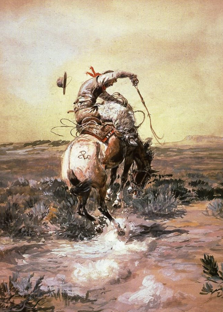 Charles Marion Russell - Slick Rider