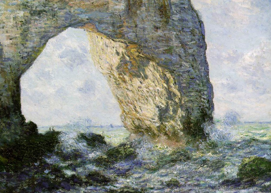 Claude Monet - Rock Arch