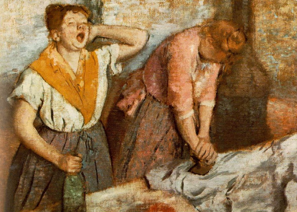 Edgar Degas - Laundry Women