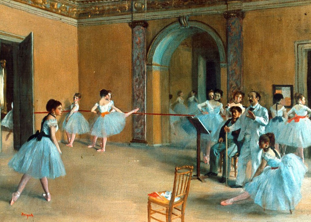 Edgar Degas - Rehearsal of the Scene