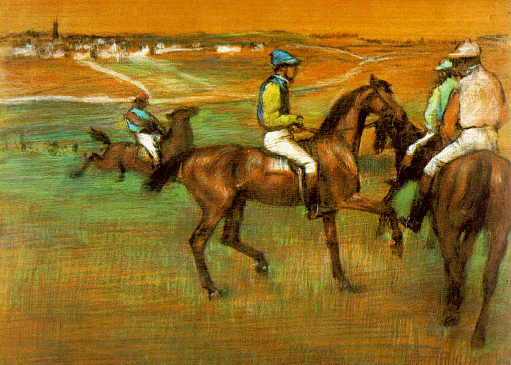 Edgar Degas - The Race Horses