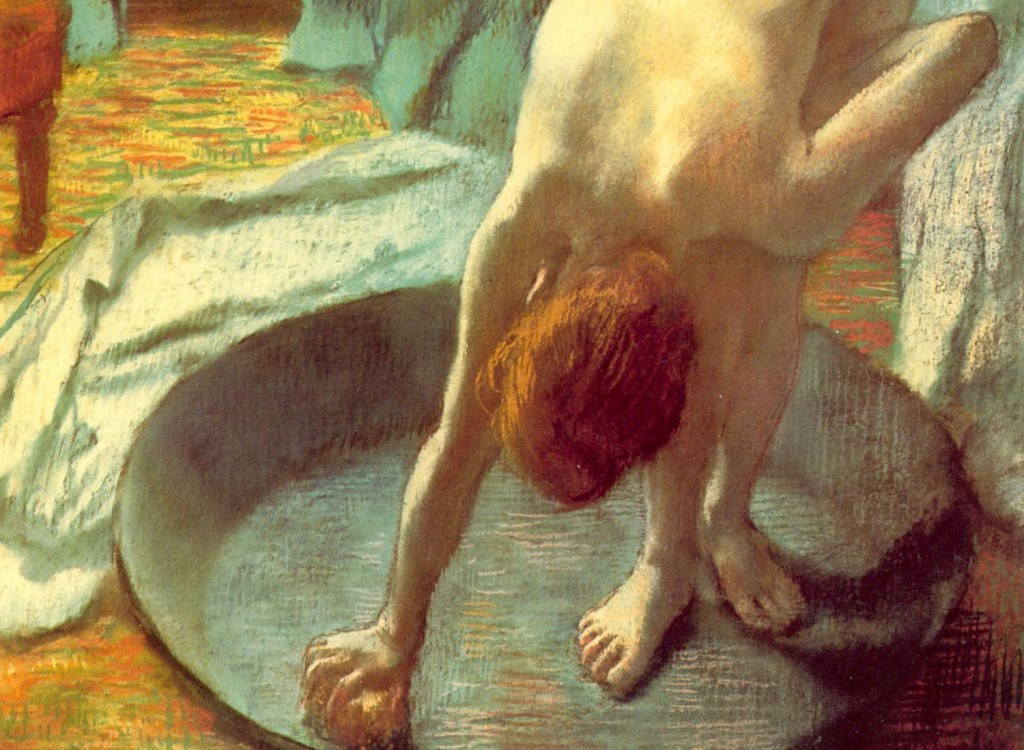 Edgar Degas - Tub