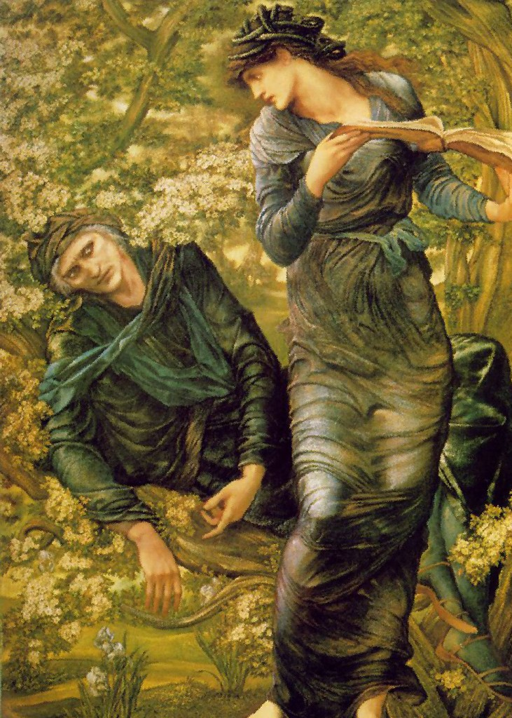 Edward Burne-Jones - Merlin