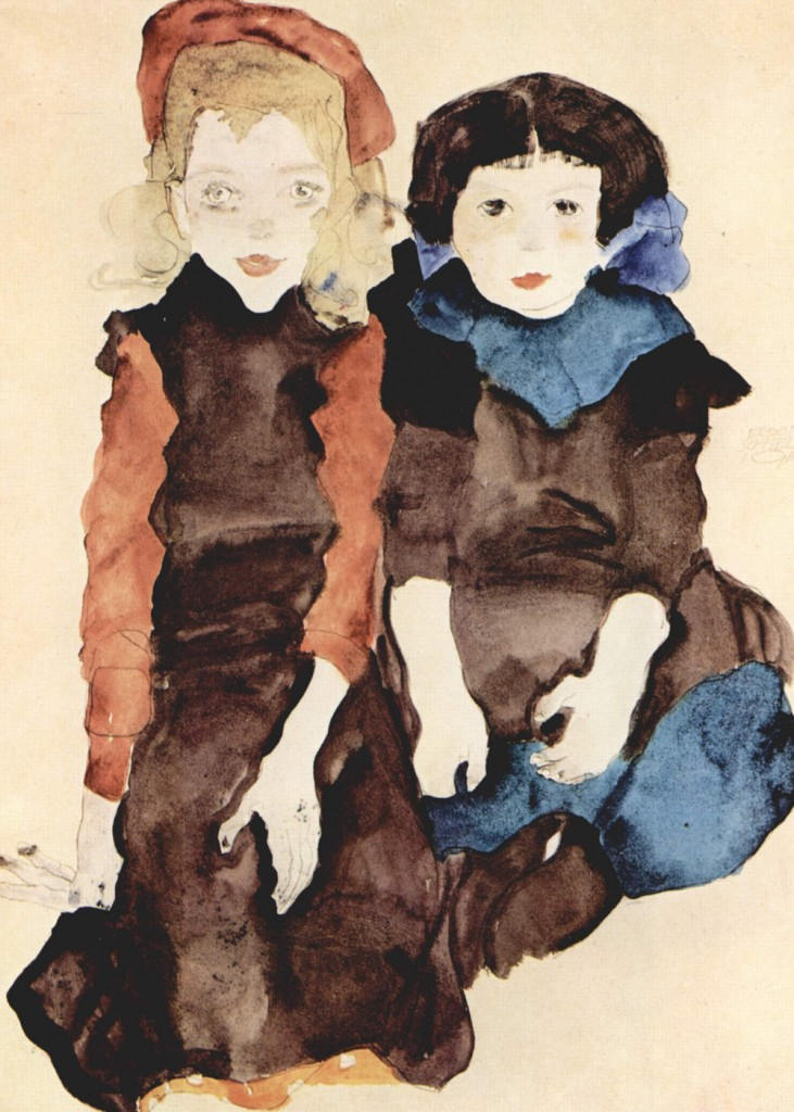 Egon Schiele - Children