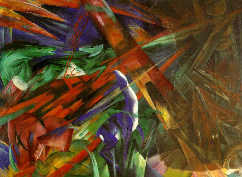 Franz Marc - Fate of Animals