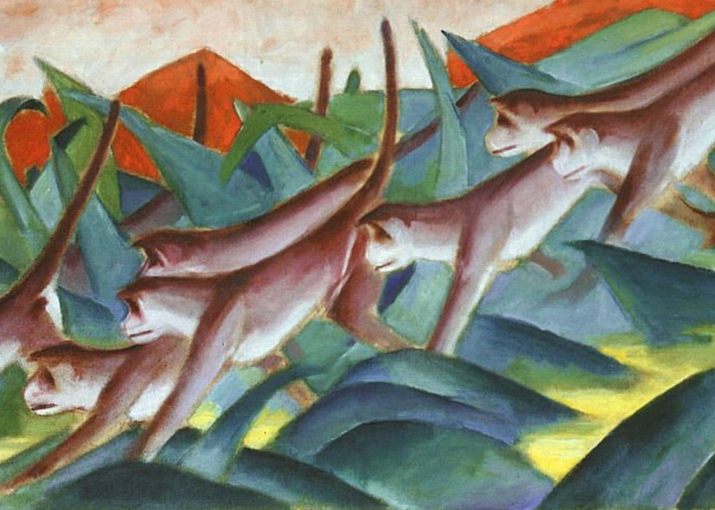 Franz Marc - Monkey Frieze (DetaiL)