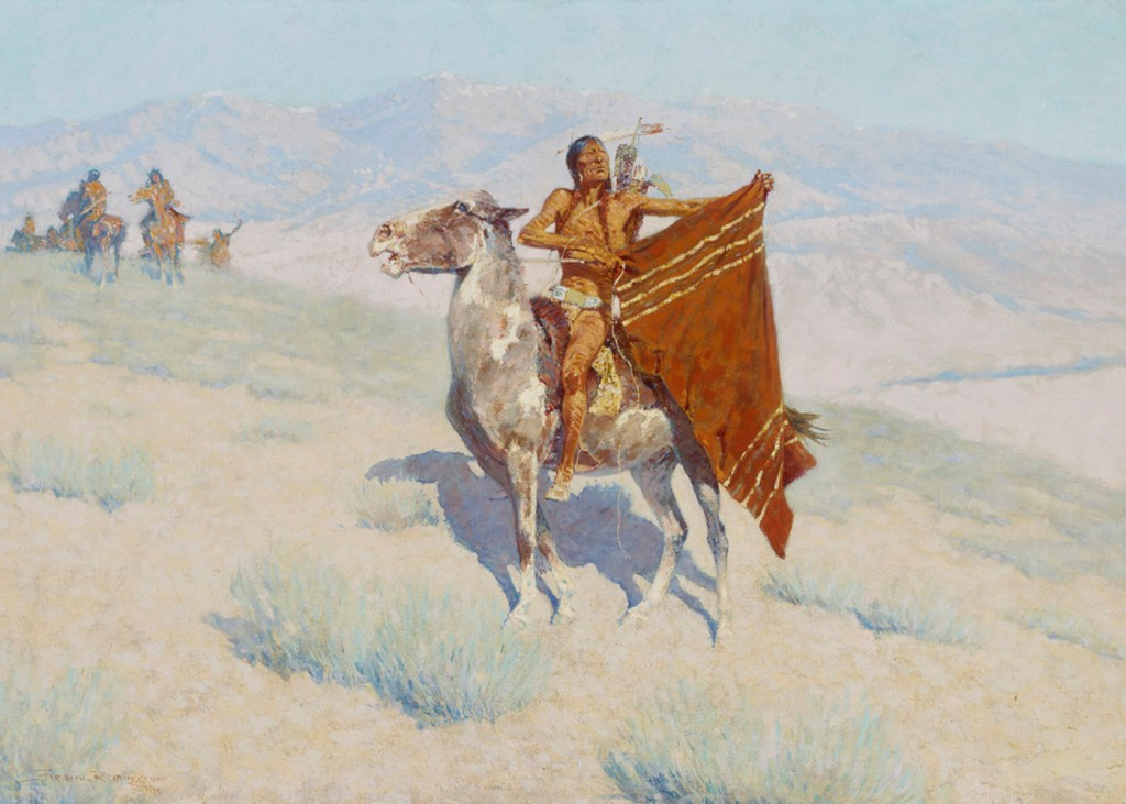Frederick Remington - Blanket Signal