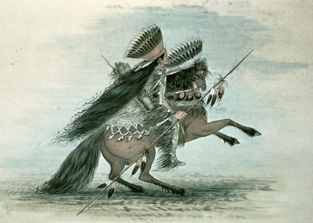 George Catlin - Warrior