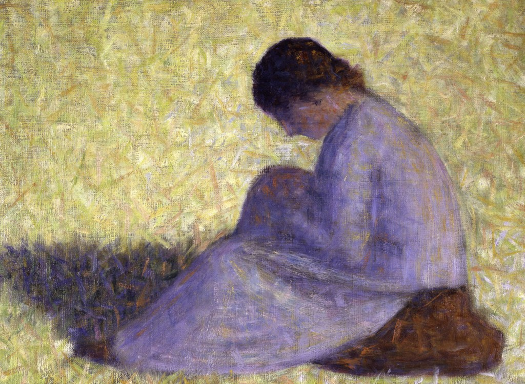 Georges Seurat - Seated Woman