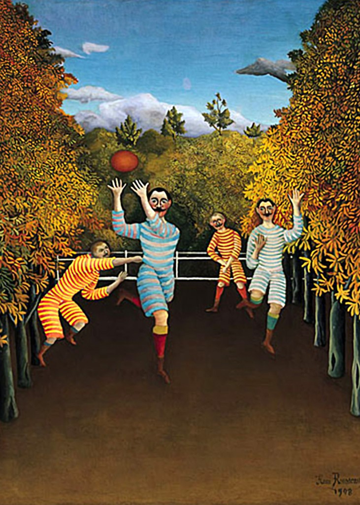 Henri Rousseau - Football Players