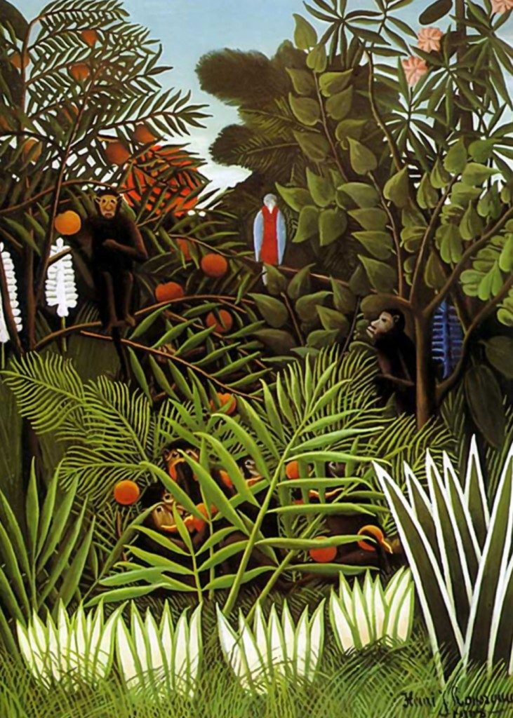 Henri Rousseau - Jungle Landscape