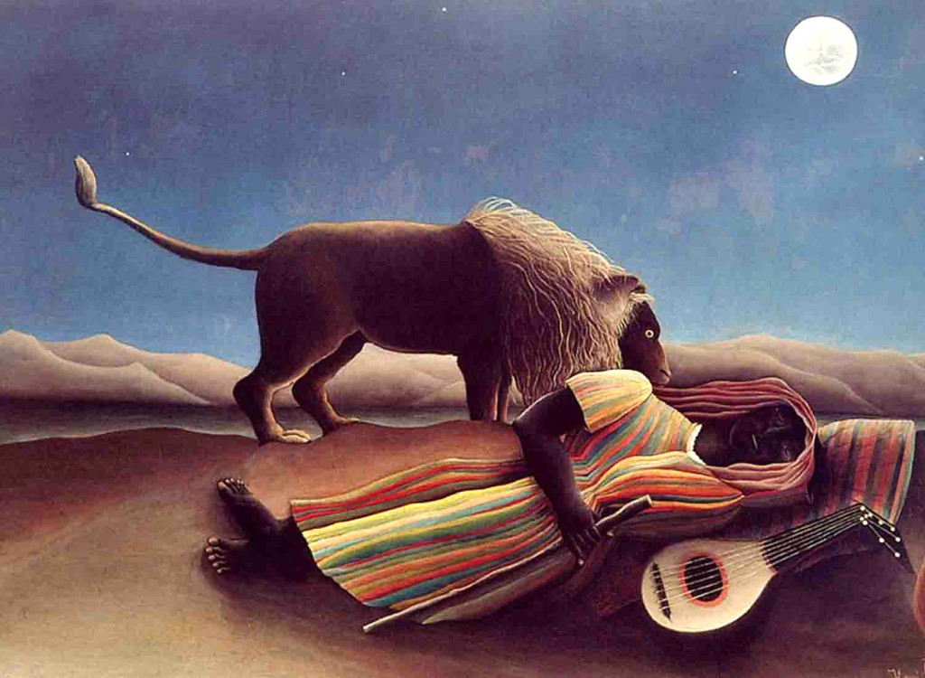 Henri Rousseau - Sleeping Gypsy