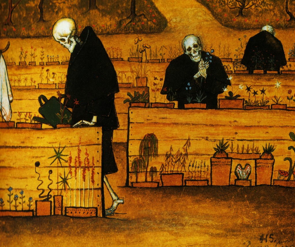 Hugo Simberg - The Garden of Death