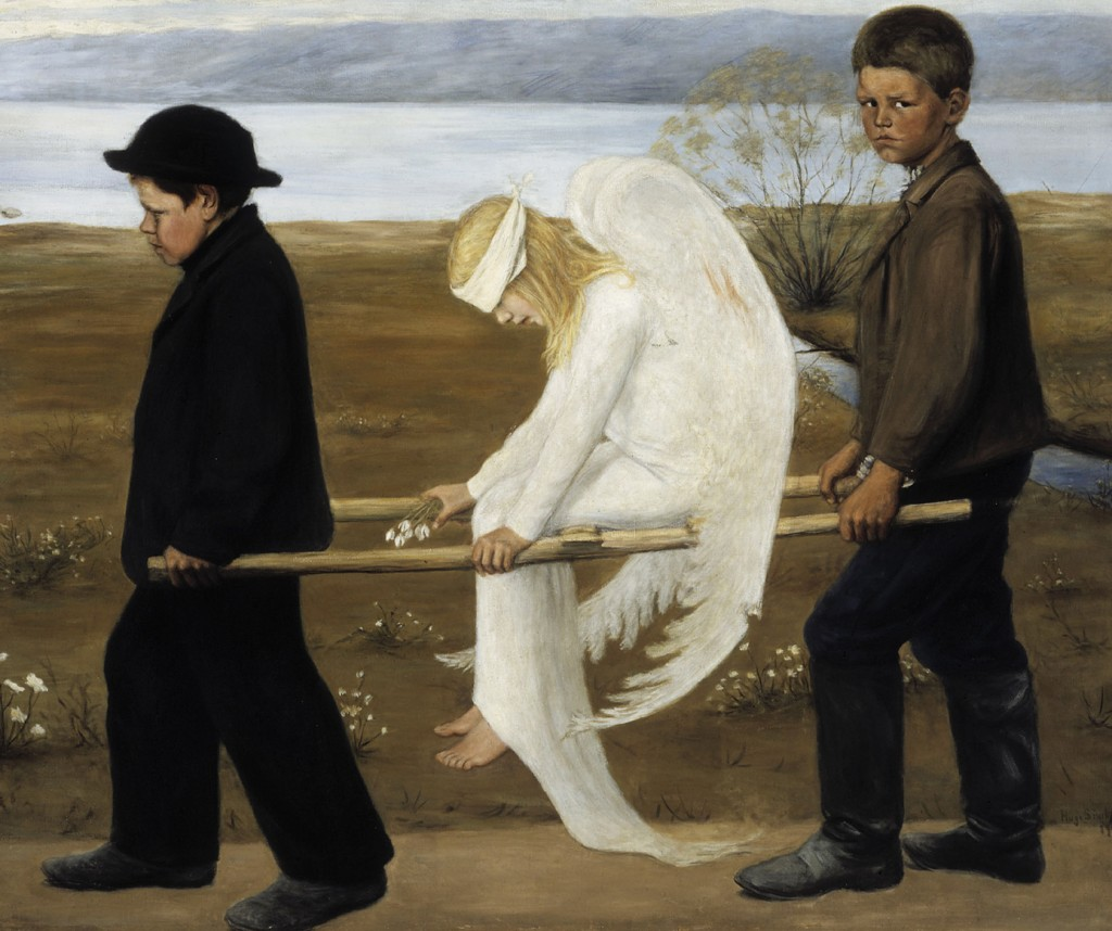 Hugo Simberg - The Wounded Angel