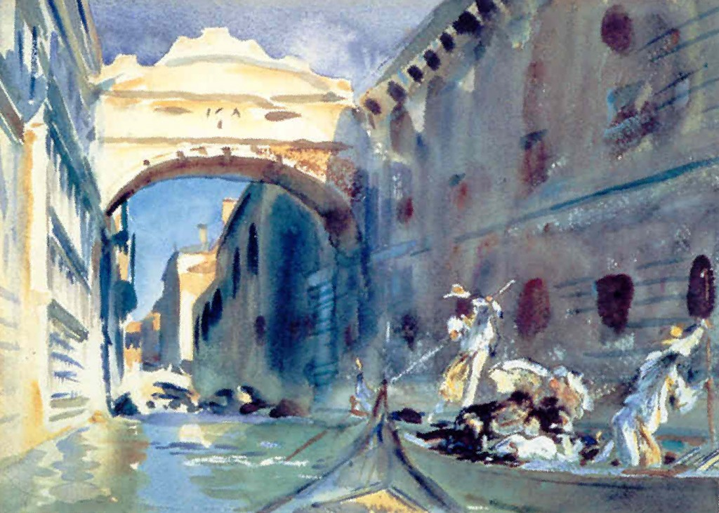 John Singer Sargent - The Bridge of Sighs