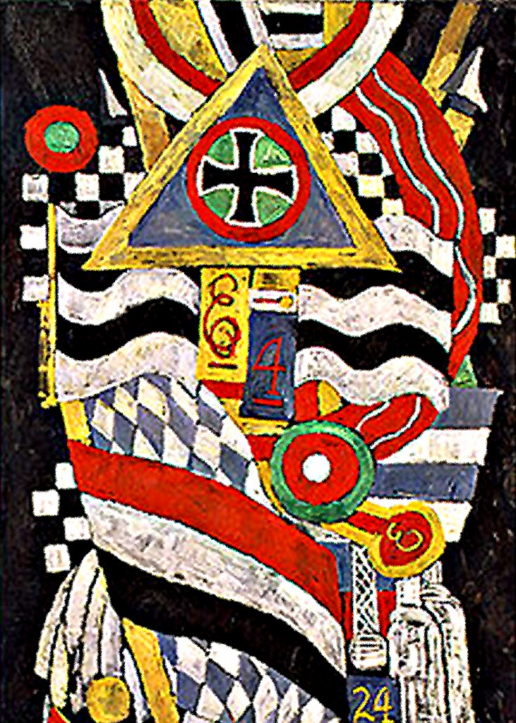 Marsden Hartley - Portrait of a German Officer