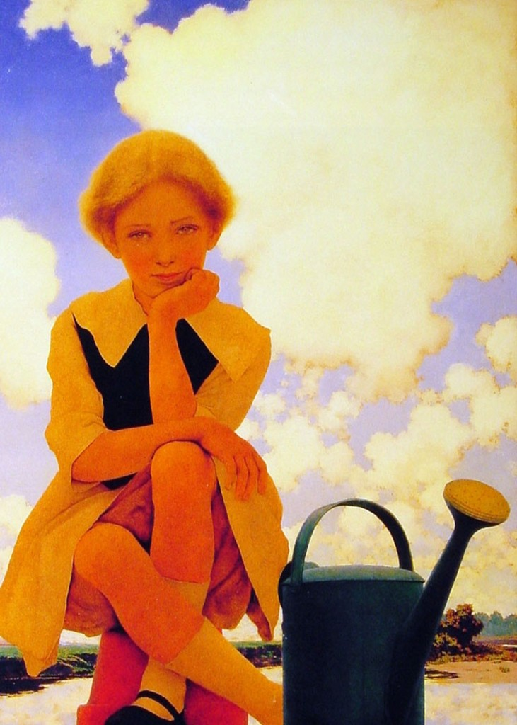 Maxfield Parrish - Mary Mary