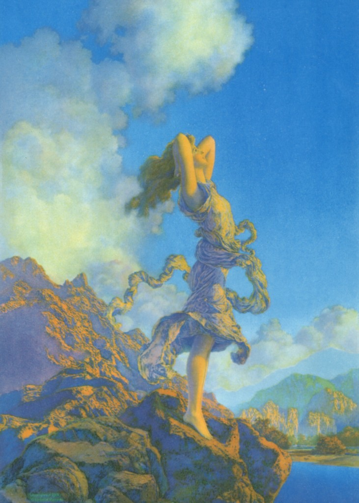 Maxfield Parrish - Mountain Ecstasy