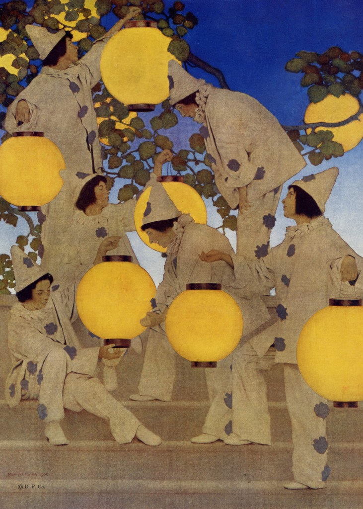 Maxfield Parrish - The Lantern Bearers