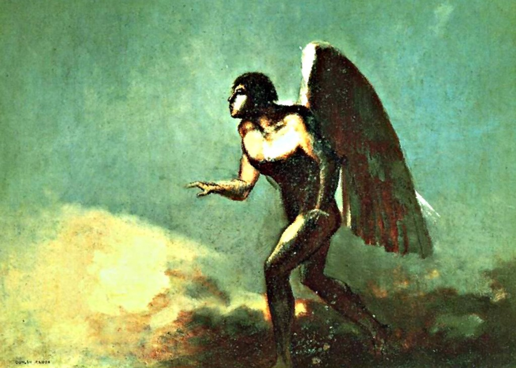 Odilon Redon - The Fallen Angel