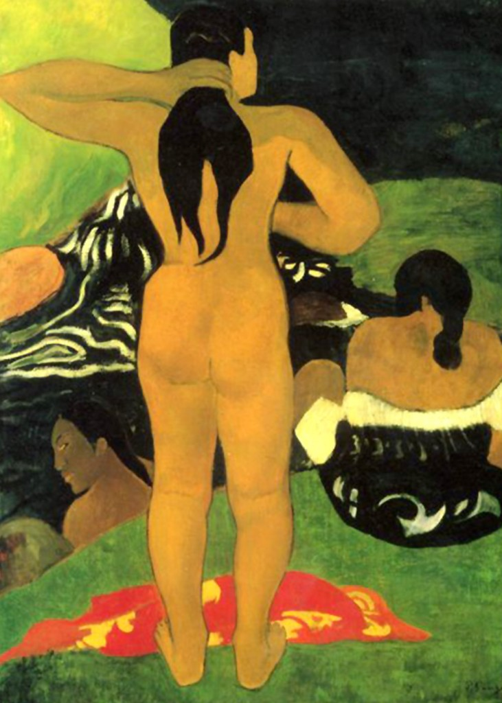 Paul Gauguin - Tahitians at the Beach