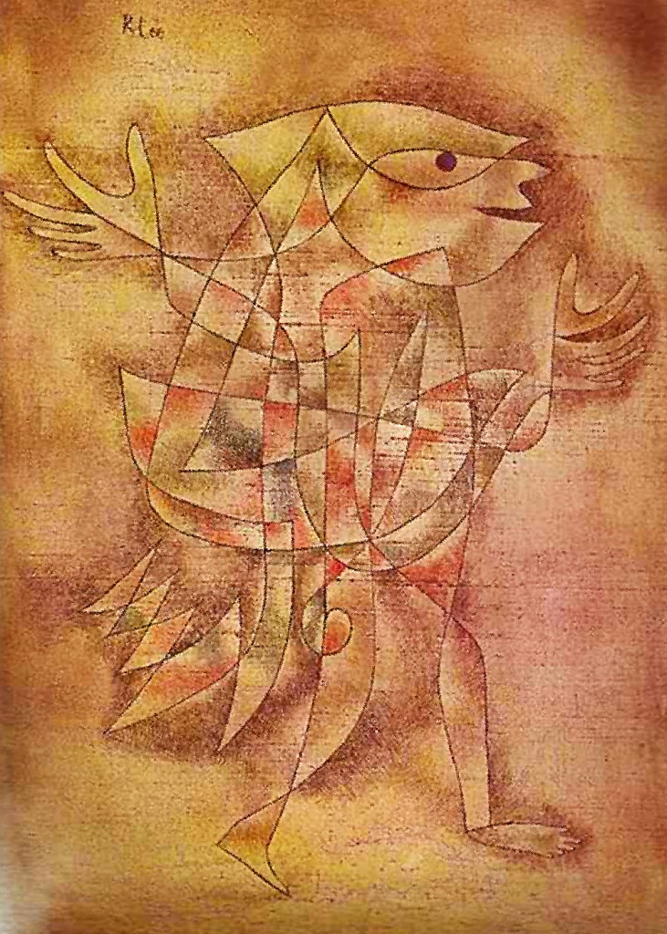 Paul Klee - Little Jester in a Trance